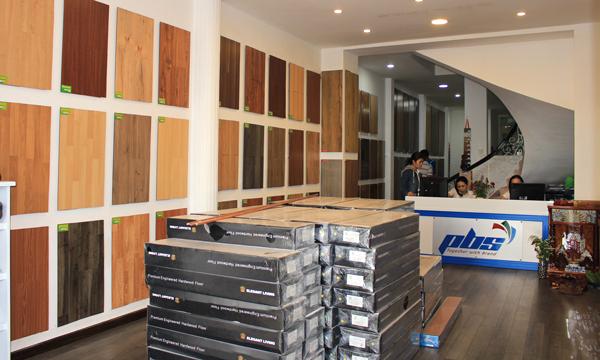 Showroom sàn gỗ PBS số 200 Cộng Hòa, Tân Bình