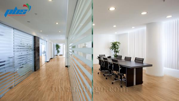 Sàn gỗ Thụy Sĩ Kronoswiss D2833 cho văn phòng