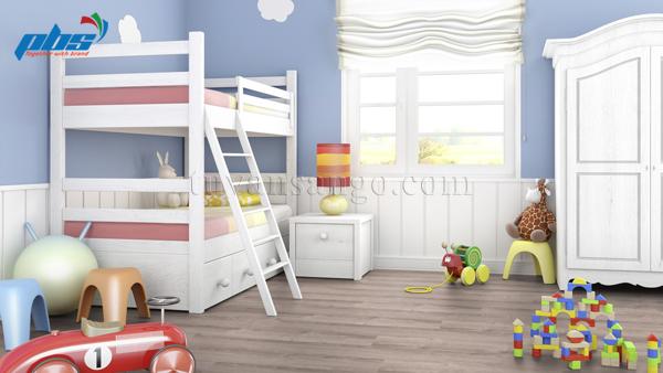 Sàn gỗ Thụy Sĩ Kronoswiss D8013 cho phòng ngủ