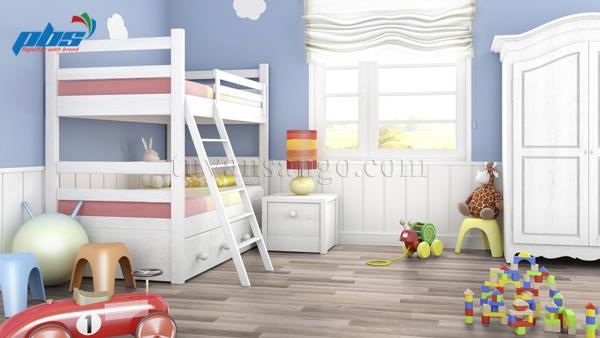 Sàn gỗ Thụy Sĩ Kronoswiss D2539 cho phòng ngủ